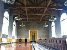 the old vast ticket room