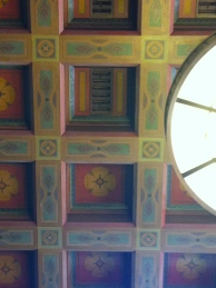 The ceilings are beautiful..even in alcoves