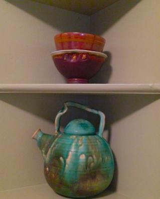 Nook with glazes