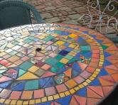 Mosaics are plentiful around here